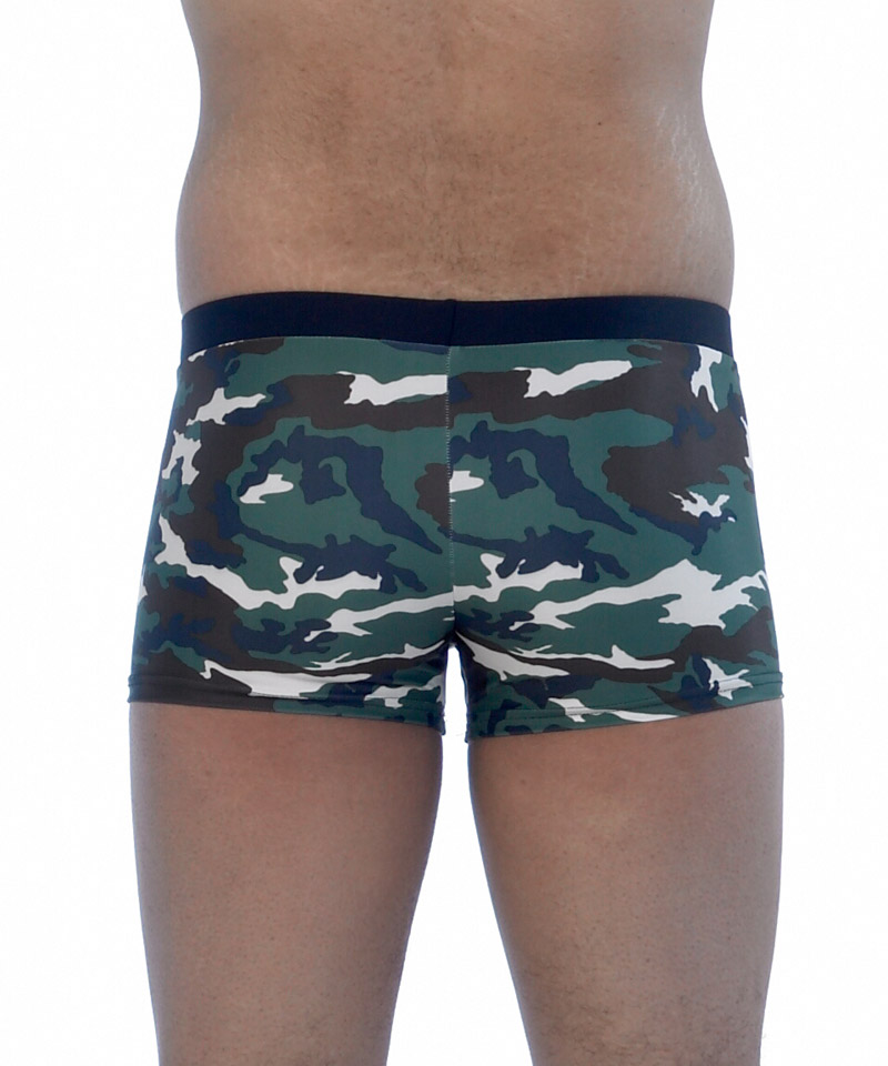 The swim trunks are generally the looser versions of mens swimwear and are often referred to as a bathing suit in many parts of the world. The sexy bikini has the smaller side, such as the Speedo (TM) brand, but if it has a wider side it may be referred to as a brief.